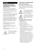 Sony STR-DH130 - STR-DH130 Istruzioni per l'uso Sloveno - Page 2