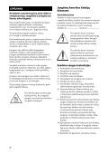 Sony STR-DH130 - STR-DH130 Istruzioni per l'uso Lettone - Page 2