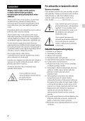 Sony STR-DH130 - STR-DH130 Istruzioni per l'uso Ceco - Page 2