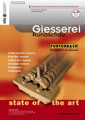 """und """"Friodur 060"""" von Furtenbach - VÖG - Verein österreichischer ..."""