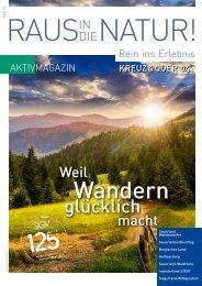 SGV - Kreuz&Quer Ausgabe 4/2015