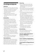 Sony HT-CT260H - HT-CT260H Istruzioni per l'uso Svedese - Page 4