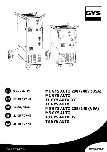 M1 - T1 & T3 GYS AUTO