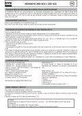 MONOGYS 200-2CS MONOGYS 250-4CS - Page 5