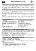 MONOGYS 200-2CS MONOGYS 250-4CS - Page 7