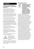 Sony STR-DN850 - STR-DN850 Guida di riferimento Serbo - Page 2