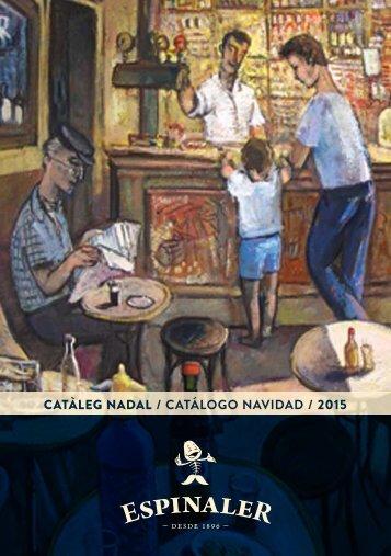 CATÀLEG NADAL / CATÁLOGO NAVIDAD / 2015