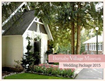 Wedding Package 2015