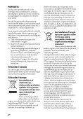 Sony STR-DH540 - STR-DH540 Istruzioni per l'uso Danese - Page 4