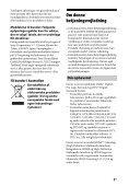Sony STR-DH540 - STR-DH540 Istruzioni per l'uso Danese - Page 5