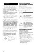 Sony STR-DH540 - STR-DH540 Istruzioni per l'uso Slovacco - Page 2