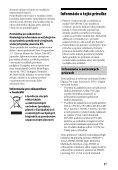 Sony STR-DH540 - STR-DH540 Istruzioni per l'uso Slovacco - Page 5