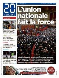 L'union nationale fait la force