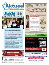 Editie Aalst 25 november 2015