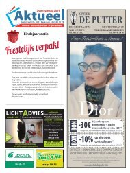 Editie Ninove 25 november 2015