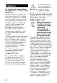 Sony STR-DN860 - STR-DN860 Guida di riferimento Serbo - Page 2