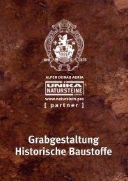 Grabgestaltung Historische Baustoffe 2016