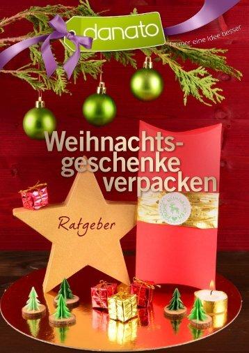 Weihnachtsgeschenke-verpacken Ratgeber von DANATO