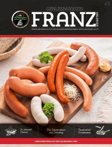 Ablinger Kundenmagazin FRANZ 01