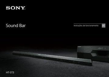 Sony HT-ST3 - HT-ST3 Istruzioni per l'uso Portoghese