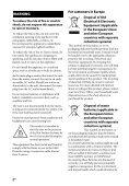 Sony STR-DN840 - STR-DN840 Guida di riferimento Portoghese - Page 2