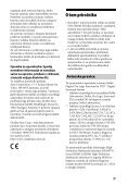 Sony STR-DN840 - STR-DN840 Istruzioni per l'uso Sloveno - Page 3