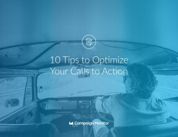 10 Tips to Optimize Your Calls to Action