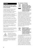 Sony STR-DN840 - STR-DN840 Guida di riferimento Inglese - Page 2