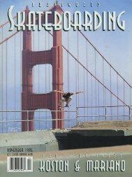 Transworld Skateboarding - November 1995