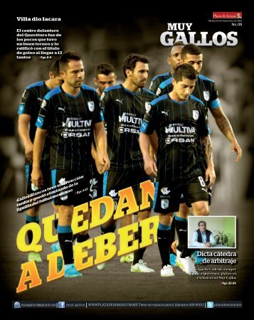 MUY GALLOS # 8 24.NOV.2015