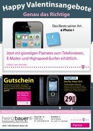 Alle Smartphones mit den neusten Telekom Tarifen - heinzbauer