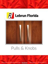 Pulls and Knobs