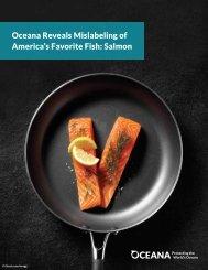 Oceana Reveals Mislabeling of America's Favorite Fish Salmon