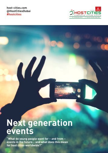 Next generation events