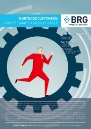 MORTGAGE CUSTOMERS HOW TO SQUARE A VICIOUS CIRCLE