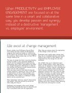 Helping You to Create the Most Productive and Engaged Organization in the World.  - Page 5