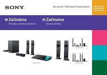 Sony BDV-N7100W - BDV-N7100W Guida di configurazione rapid Slovacco