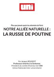 LA RUSSIE DE POUTINE