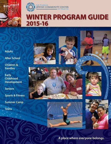 2015-16 Winter Program Guide