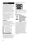 Sony BDV-E6100 - BDV-E6100 Istruzioni per l'uso Lettone - Page 2