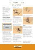 VERLEGE- und EInBAuHInWEISE - Stone Collection - Seite 2