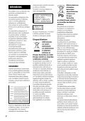 Sony BDV-N790W - BDV-N790W Istruzioni per l'uso Lettone - Page 2