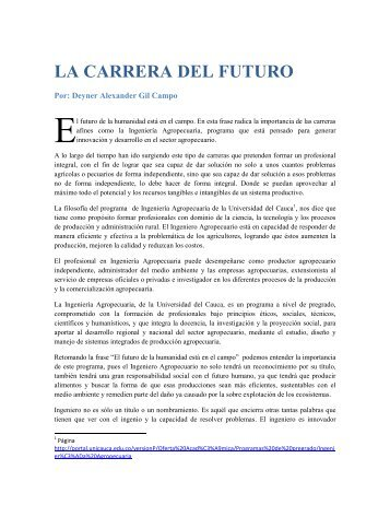 7 Ing Agropecuaria LA CARRERA DEL FUTURO
