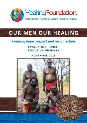 OUR MEN OUR HEALING