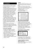 Sony BDV-N7200W - BDV-N7200W Istruzioni per l'uso Croato - Page 2