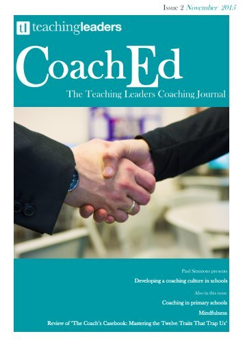 The Teaching Leaders Coaching Journal