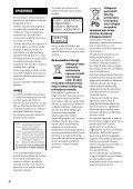 Sony BDV-N990W - BDV-N990W Guida di riferimento Bosniaco - Page 2