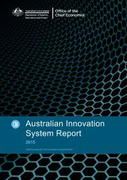 Australian Innovation System Report