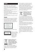 Sony BDV-E800W - BDV-E800W Istruzioni per l'uso Sloveno - Page 2