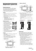 Sony KLV-40U2520 - KLV-40U2520 Istruzioni per l'uso Slovacco - Page 7